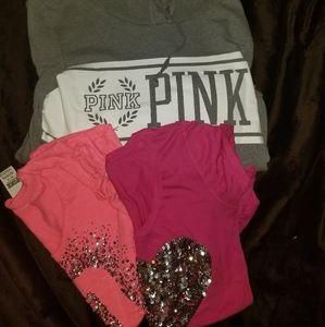 PINK Victoria's Secret Shirt Lot